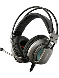 xiberia v10 gaming hovedtelefoner med mikrofon computer headset med mikrofon PC Gamer usb førte gaming hovedtelefoner pandebånd