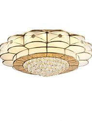 Montage du flux ,  Traditionnel/Classique Laiton Fonctionnalité for Cristal LED Métal Salle de séjour Chambre à coucher Salle à manger