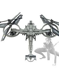Helicóptero com CR 4CH 6 Eixos 5.8G -