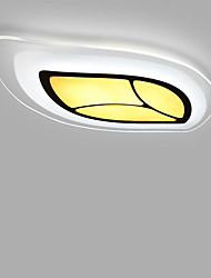 Leaves LED Acrylic The Bedroom Light Stepless Dimming Sitting Room Lights Remote Control Included Length 55cm