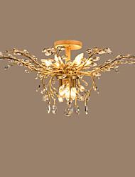 Vestavná montáž ,  moderní - současný design Tradiční klasika Venkovský styl Země Starožitná mosaz vlastnost for Křišťál LED KovObývací