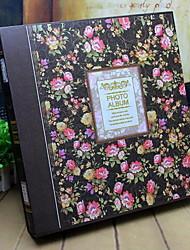 álbum de foto floral / botanicals retro