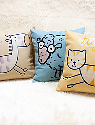 1 pçs Linho Almofada Inovadora Fronha Almofada de Corpo Almofada de Vigem almofada do sofá,Estampado AnimalModerno/Contemporâneo Casual
