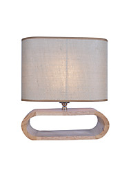 Fabric Table Lamp E27/E26 1  Light For Bedroom