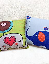 1 pçs Linho Almofada Inovadora Fronha Almofada de Corpo Almofada de Vigem almofada do sofá,Estampado Animal Estampas Abstratas