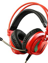 cuffie xiberia gioco v10 vibrazioni oltre orecchio ha condotto la luce auricolare stereo per computer PC Gamer auricolari bagliore Super