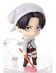 Anime Action Figures geinspireerd door Attack on Titan Mikasa Ackermann PVC 10 CM Modelspeelgoed Speelgoedpop
