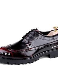 menns Oxfords våren falle gladiator slyngplanter formelle sko komfort okse sko skinn bryllup utendørs kontor&karriere fest&kveld