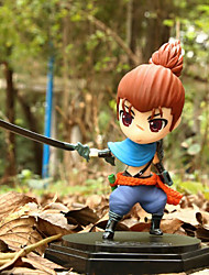 Anime Action Figures Inspired by LOL The Unforgiven Yasuo PVC 14 CM Model Toys Doll Toy
