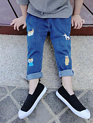 Boys' Going out Casual/Daily Solid Jeans Spring Fall