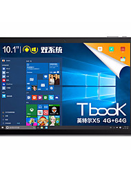 Tbook10S 10,1 tommer Dual System Tablet (Android 5.1 Windows 10 1920*1200 Octa Core 4GB RAM 64GB ROM)