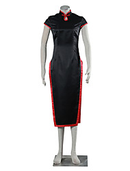 Cosplay Suits Dresses School Uniforms Inspirirana Naruto Temari Anime Cosplay Pribor Cheongsam Crna Charmeuse