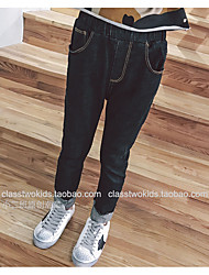 Girls' Casual/Daily Solid Pants Spring Fall