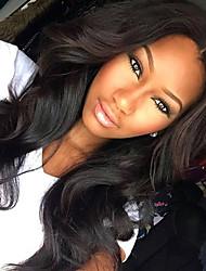 גולת הכותרת t1b / 27 פאות שיער אדם מלאת תחרת גל רופפת 130% צפיפות פאות glueless שיער בתולה ברזילאיות עבור אישה