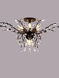 Takmonteret ,  Moderne / Nutidig Tradisjonell / Klassisk Rustikt/hytte Rustik Maleri Funktion for Krystal LED MetalStue Soveværelse