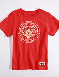 Bavlna Běžné/Denní Zvířecí Léto Košilky,Krátký rukáv