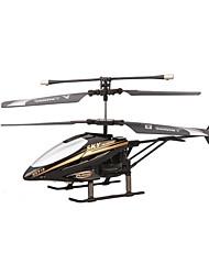 RC Helicóptero com CR 2 Canais 2 Eixo 2.4G - Plástico