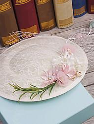 טול בד רשת כיסוי ראש-חתונה אירוע מיוחד קז'ואל חוץ כובעים חלק 1