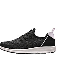 Men's Sneakers Spring Summer Fall Winter Comfort Tulle Athletic Casual Flat Heel Lace-up Walking