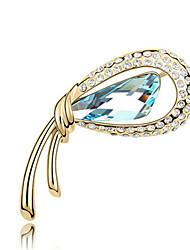 נשים תפס לשיער תכשיטים עיצוב מיוחד מותאם אישית Euramerican אבן יקרה סגסוגת תכשיטים זהב סגול פוקסיה ירוק כחול תכשיטים ל Party יומי קזו'אל