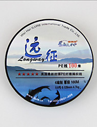 100M / 110 Yards Monofilamento Linhas de Pesca Verde 80LB 2.5 mm Para Pesca Geral