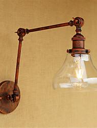 AC 220-240 40 E26/E27 Rustique Rétro Galvanisé Fonctionnalité for Style mini Ampoule incluse,Eclairage d'ambianceEclairage avec Bras