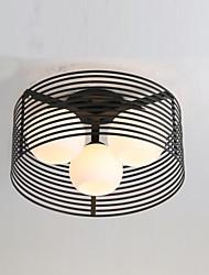 Montage de Flujo ,  Moderno / Contemporáneo Campestre Pintura Característica for Mini Estilo MetalSala de estar Dormitorio Comedor