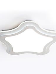 Takmonteret ,  Moderne / Nutidig Maleri Funktion for LED Metal Læseværelse/Kontor Indgang Entré