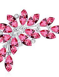 נשים תפס לשיער תכשיטים עיצוב מיוחד מותאם אישית Euramerican אבן יקרה סגסוגת תכשיטים זהב סגול פוקסיה כחול תכשיטים ל Party יומי קזו'אל