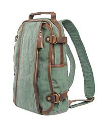 Muchuan 15,6 palcový počítač taška přes rameno plátno cestovní batoh