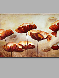Hand-Painted Abstract Flowers Oil painting Ready To Hang Modern One Panels Canvas Oil Painting For Home Decoration