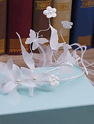 נוצה טול בד כיסוי ראש-חתונה אירוע מיוחד קז'ואל חוץ פרחים כובעים חלק 1