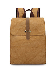 Unisex Canvas Formal Sports Casual Camping & Hiking Climbing Outdoor Shopping Backpack All Seasons