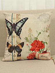 1 Pcs Butterfly 45cm*45cm Soft Decorative Pillow Cover