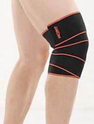 Joelheira Bandagem Elástica para Fitness badminton Basquete Futebol Americano Ciclismo / bicicleta Corrida UnissexAjustável Respirável