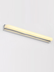 AC 100-240 14 LED Integrated Modern/Contemporary Chrome Feature for LED Bulb Included,Ambient Light Bathroom Lighting Wall Light