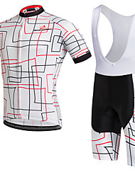 AOZHIDIAN Summer Cycling Jersey Short Sleeves BIB Shorts Ropa Ciclismo Cycling Clothing Suits #AZD140