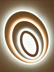 Montage du flux ,  Contemporain Traditionnel/Classique Chrome Fonctionnalité for LED MétalSalle de séjour Chambre à coucher Salle à