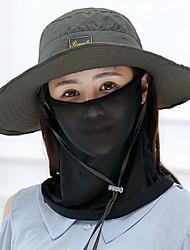 Dámské Na běžné nošení Léto Sluneční klobouk,Jednobarevné Bavlna