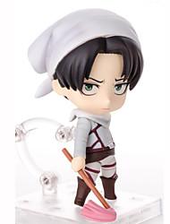 Anime Action-Figuren Inspiriert von Attack on Titan Cosplay PVC 10 CM Modell Spielzeug Puppe Spielzeug