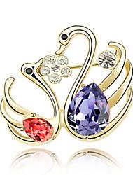 נשים תפס לשיער תכשיטים עיצוב מיוחד מותאם אישית Euramerican אבן יקרה סגסוגת תכשיטים סגול פוקסיה אדום כחול תכשיטים ל Party יומי קזו'אל