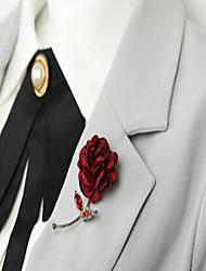 Dámské Brože Módní Slitina Červená Šperky Pro Svatební Párty Zvláštní příležitosti Halloween Denní Ležérní