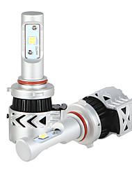9005 נורות LED ערכת פנס המכונית 36W / 2pcs 7200lm הוביל 9V-32v ערכת המרה להחליף עבור נורות הלוגן או הסתירו נורות