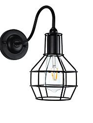 AC220V-240v 4w e27 LED lys swall lys førte væg sconces væg jern væglampe stum sort lyssværd lampe på væggen europa og usa