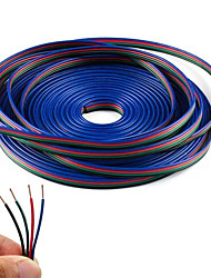 4 barva 20m rgb prodlužovací kabelová lanka pro led pásy rgb 5050 3528 šňůra 4pin