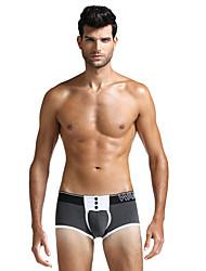 Barevné bloky Sexy Push-up podprsenky Boxerky Bavlna