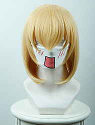 The Evil Magician And Taboo Lumiya Tinger Middle Yellow Anime Cosplay Wigs Wholesale