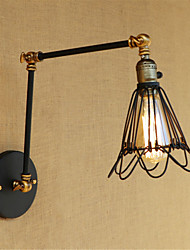 AC 110-130 AC 220-240 40 E26/E27 Rustic/Lodge Country Retro Painting Feature for Mini Style Swing Arm Bulb Included,Ambient LightSwing