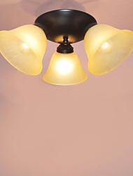 플러쉬 마운트 ,  컴템포러리 / 모던 클래식 / 전통 페인팅 특색 for LED 미니 스타일 디자이너 금속 침실 주방 학습 방 / 사무실 게임 룸 현관