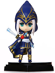 Anime Action Figures Inspired by LOL Ashe PVC 14 CM Model Toys Doll Toy